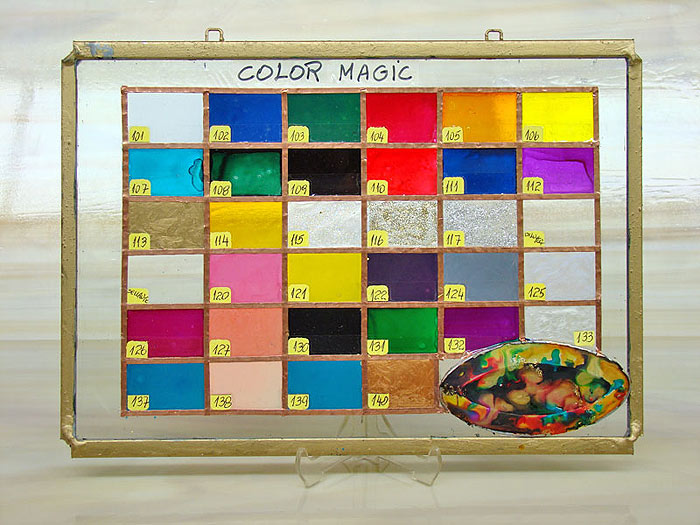 "Muestrario Pinturas ""Color Magic"". - USA"